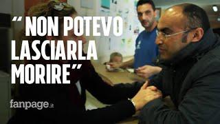 Mustafa, l'uomo che ha salvato la dottoressa aggredita a Crotone: