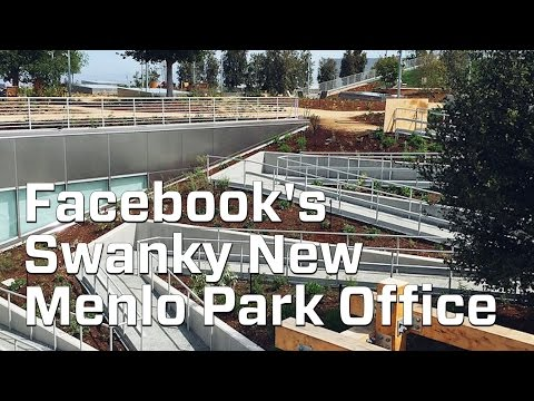 A Look Inside Facebook's New Menlo Park Office