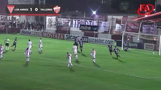 FATV 19/20 Fecha 5 - Torneo Apertura - Los Andes 1 - Talleres 0