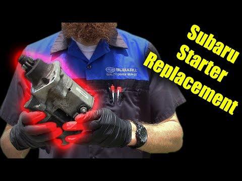 Subaru Starter Replacement