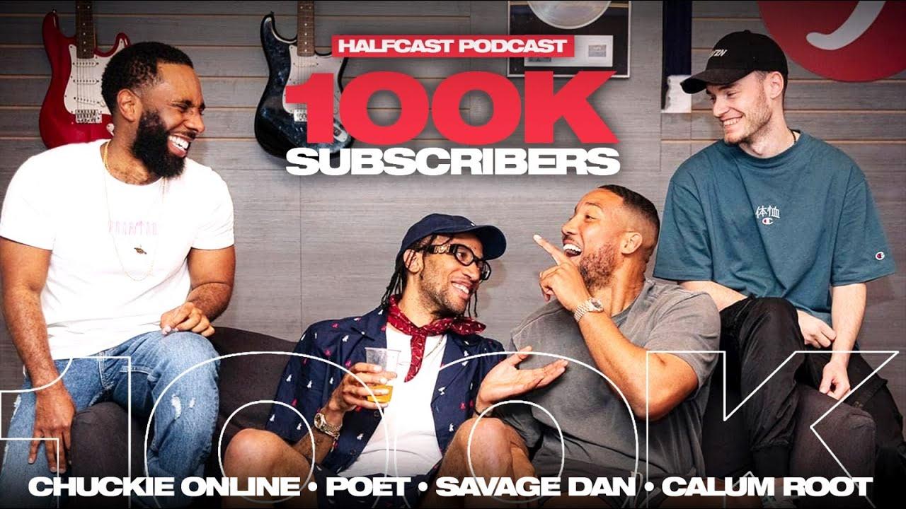 100K SUBSCRIBERS!!! || Halfcast Podcast