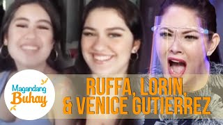 Lorin and Venice reveal that Ruffa became clingy | Magandang Buhay