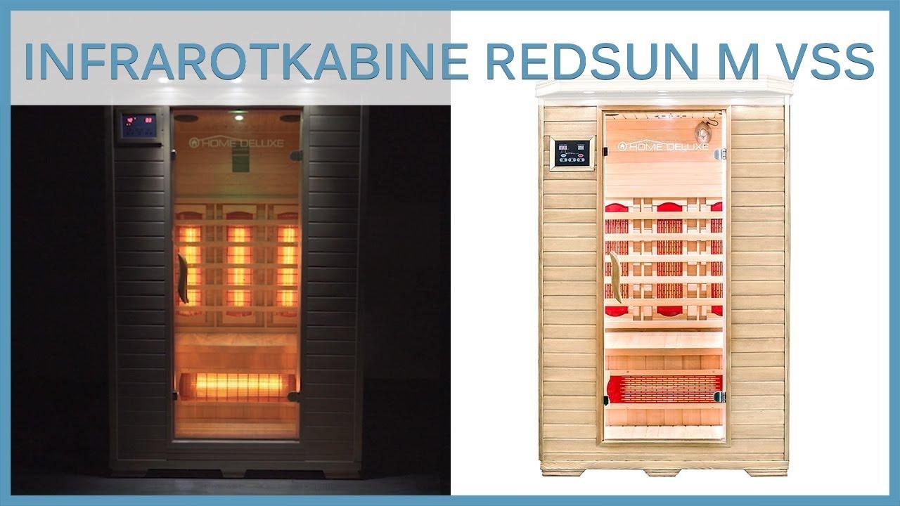 Infrarotkabine Sauna Redsun M mit Vollspektrumstrahler | Produktvorstellung