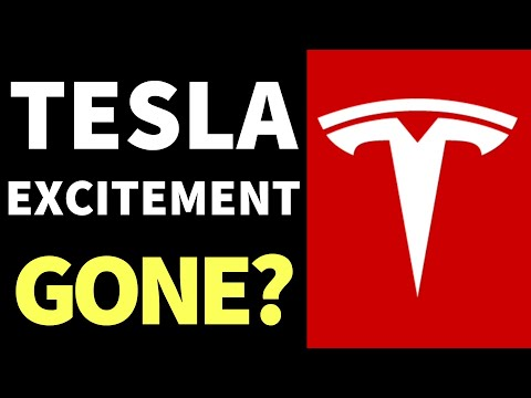 Tesla Stock Analysis - (The Excitement On Tesla Stock Is Gone?)