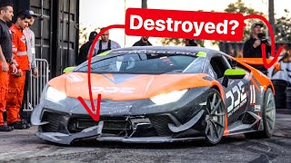 HOW MUCH DAMAGE DID I DO TO MY LAMBORGHINI??