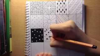 DIY: простые узоры дудлинг