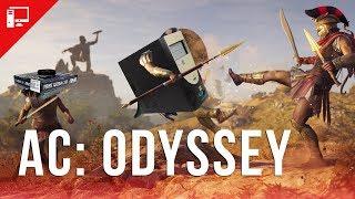 PC Baratinho e da Crise tomam uma surra de Assassin's Creed Odyssey