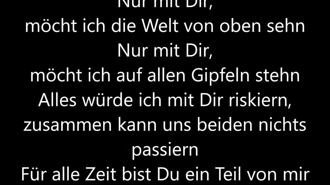 Helene Fischer Nur Mit Dir Lyrics Youtube