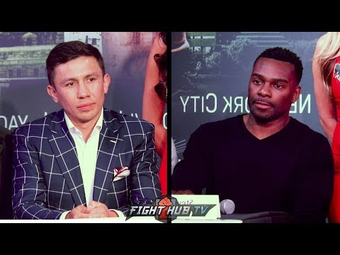 GENNADY GOLOVKIN VS STEVE ROLLS - THE COMPLETE LOS ANGELES PRESS CONFERENCE
