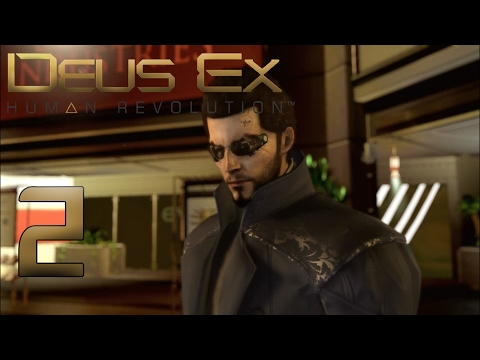 Let's Play Deus Ex: Human Revolution [2] HD - Eine Zeit der Innovation (NikTheZocker)