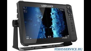 Обзор эхолот картплоттера Lowrance HDS Live 12