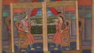 Shah Jahan & Mumtaz Mahal Mughal Portraits