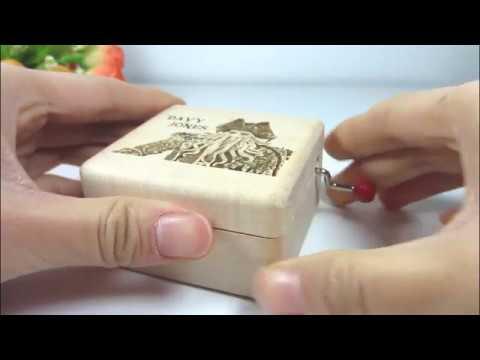 Davy Jones music box Hand Crank