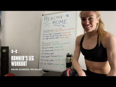 Runner's Leg Workout with Rachel Schneider | Under Armour Run Home Workouts