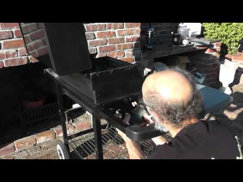 Smoke Generator, Make Your Covered BBQ a Pellet Smoker with Smokemiester, Weber side installation