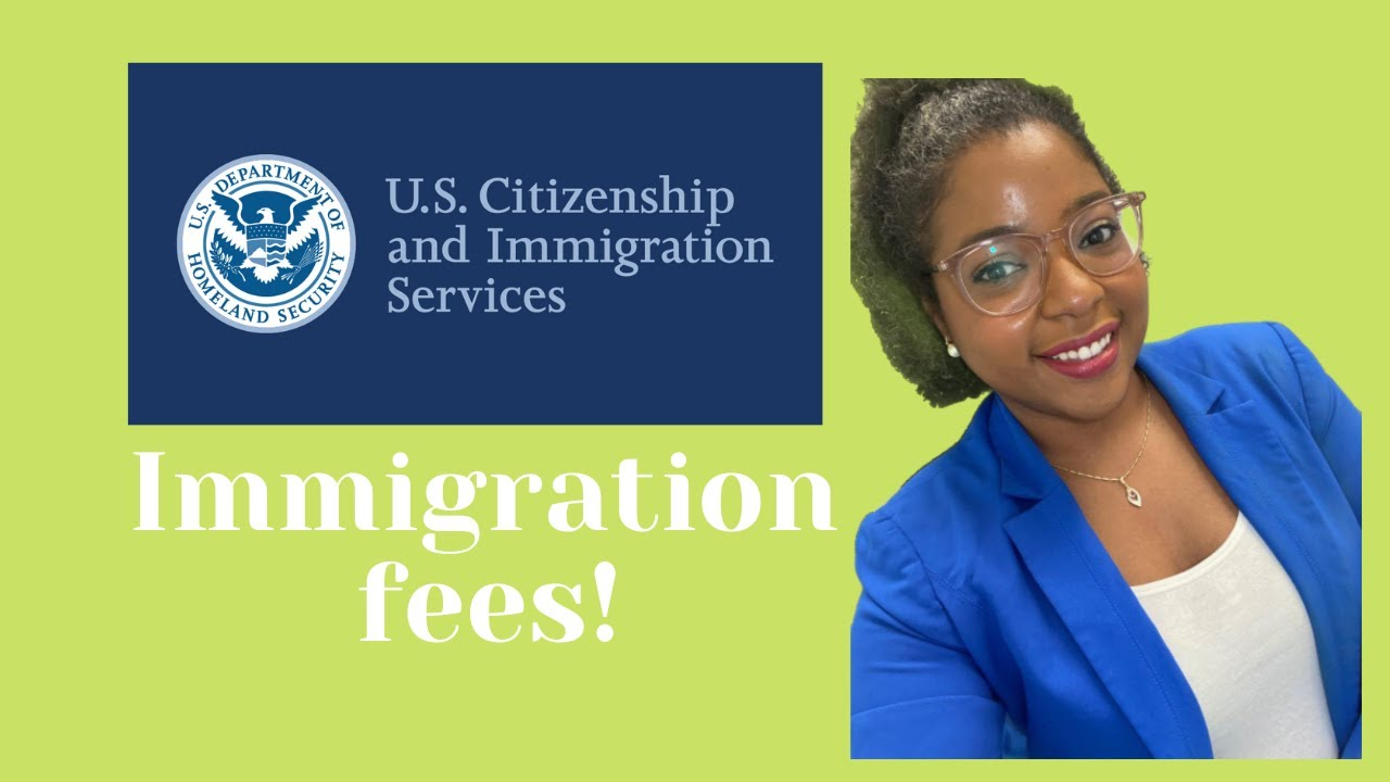 Did You Know That Immigration Fees Remained The Same..For Now!!
