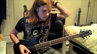 Cthulhu Dawn Guitar Cover (cradle of filth)