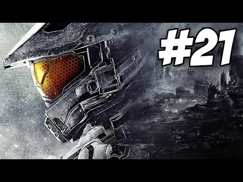 Halo 5 Walkthrough Part 21 - Mission 14 (Let's Play / Gameplay Commentary)