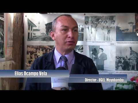 UGEL Moyobamba entrega reconocimiento a promotor de museo de antigüedades