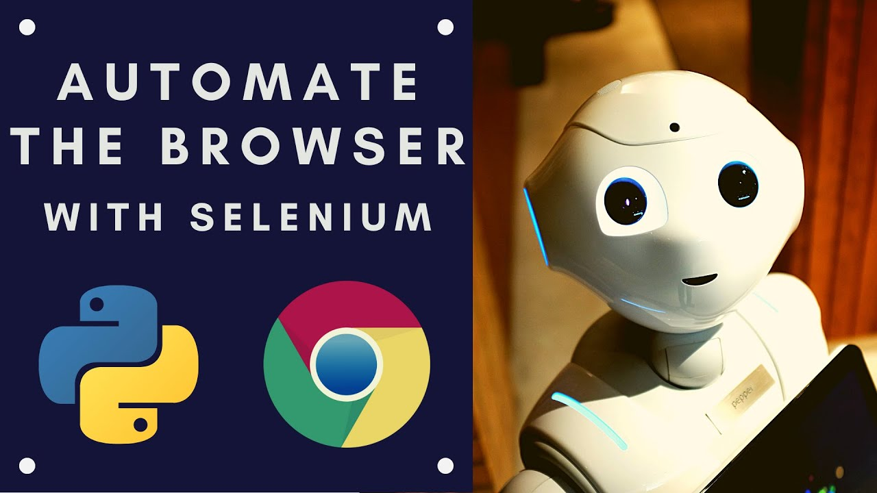 How to automate your Web Browser using Selenium with Python
