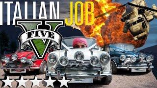 GTAV Recreates The Italian Job