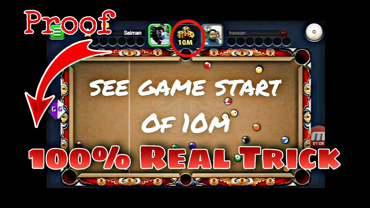 8 ball pool 3.9.0 hacked: Unlimited coins 100%👈 work -