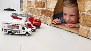 Learning names of cars | Toy police Cars for Children