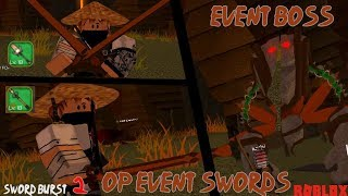 OP Event Swords | Sword burst 2 - Roblox