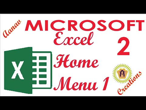 How to use MS Excel Home Tab Complete Tutorial thumbnail