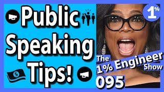 How To Overcome Fear of Public Speaking | How To Speech for Public Speaking