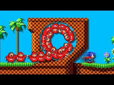 Uganda Knuckles vs Sonic