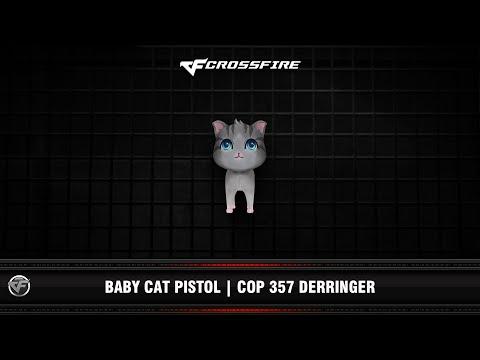CF : Baby Cat Pistol   COP 357 Derringer