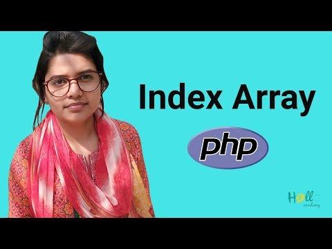 PHP Basic Tutorial  Bangla Part 7(PHP Index Array)