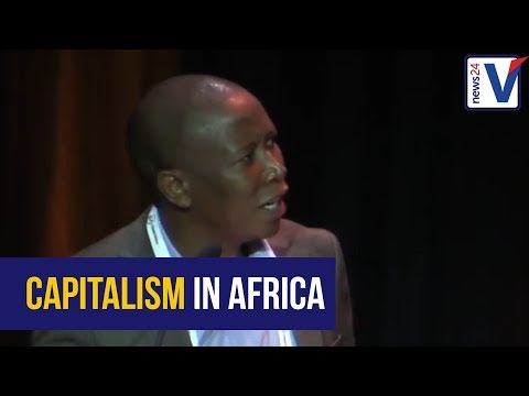 Malema on nationalisation and capitalism in Africa