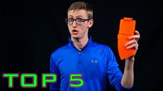 TOP 5 Things Nerf Noobs Do