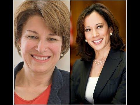 2020 Democratic Primary Prediction- Amy Klobuchar vs Kamala Harris
