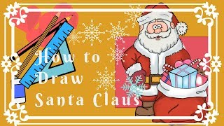speed drawing  speciale natale babbo natale