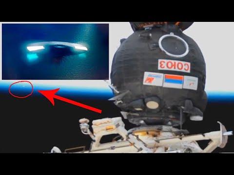 OVNI GIGANTE se va del planeta y la NASA lo esconde
