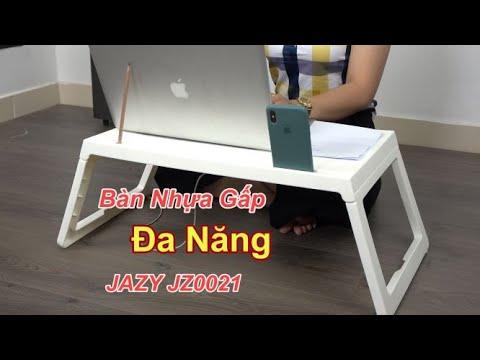 Bàn Nhựa Gấp Đa Năng JAZY JZ0021 – Với Giá Chỉ 230k – Để iPad, Laptop, Điện Thoại, Bút, Tập, Sách