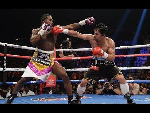 Manny Pacquiao dominates Adrien Broner to retain WBA title