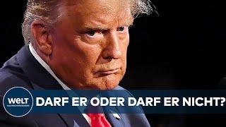 FACEBOOK: Darf Ex-US-Präsident Donald Trump wieder posten? Gremium entscheidet I WELT News