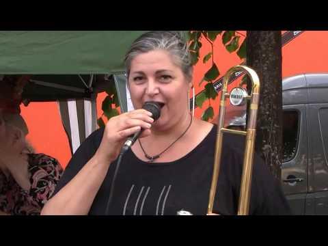 Copenhagen Jazz Festival 2017: Højbro Plads Jazz Trio. Feat. Ann Farholt