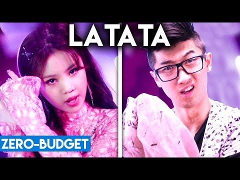 K-POP WITH ZERO BUDGET! (G)I-DLE - LATATA