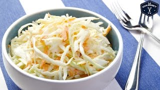 Tangy mayo Cole Slaw Recipe - Le Gourmet Tv 4k