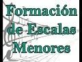 Lecciones de musica gratis, Formacion de escalas menores curso de piano gratis