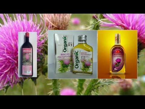 Видео как принимать масло расторопши для лечения печени