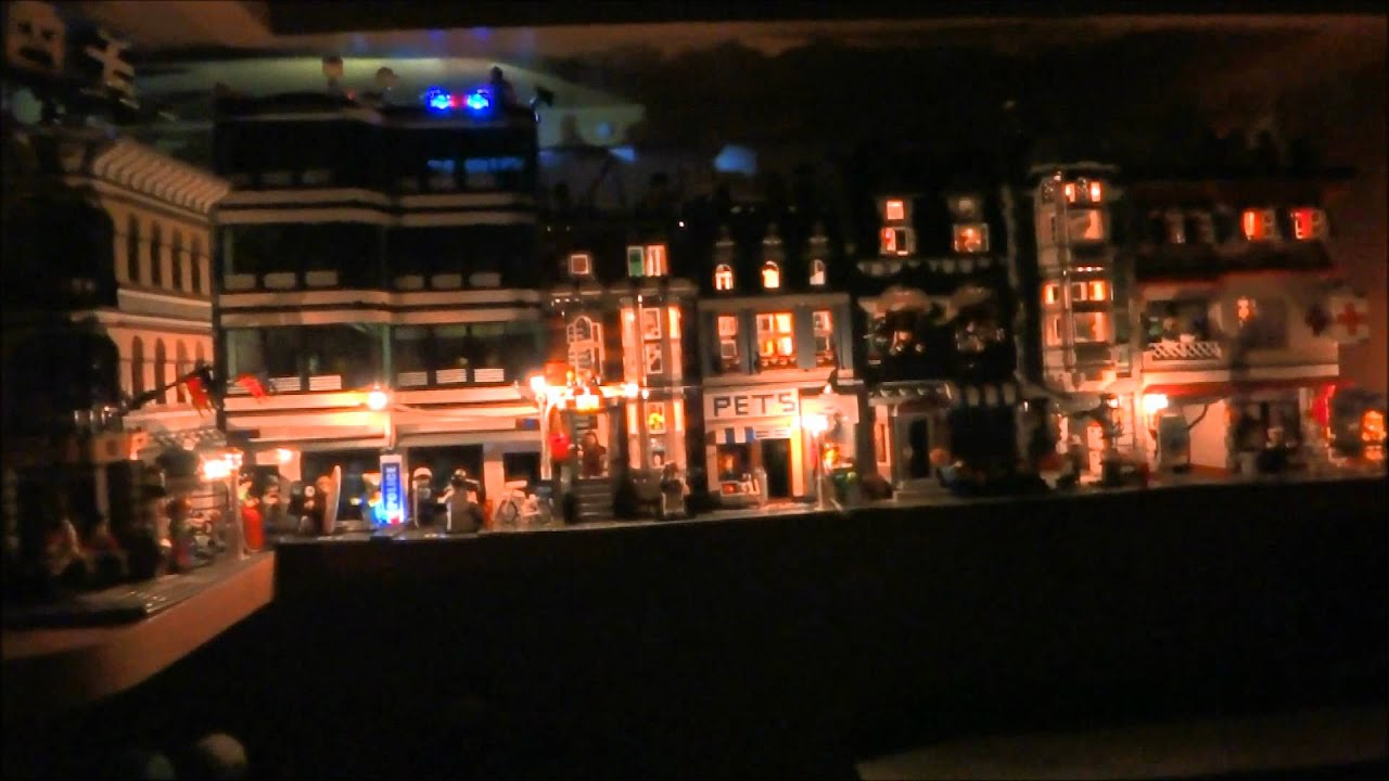 Lego City Lights Updated Hi Res Youtube