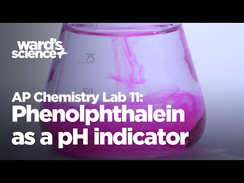 AP Chemistry Lab 11 - Phenolphthalein as a pH Indicator