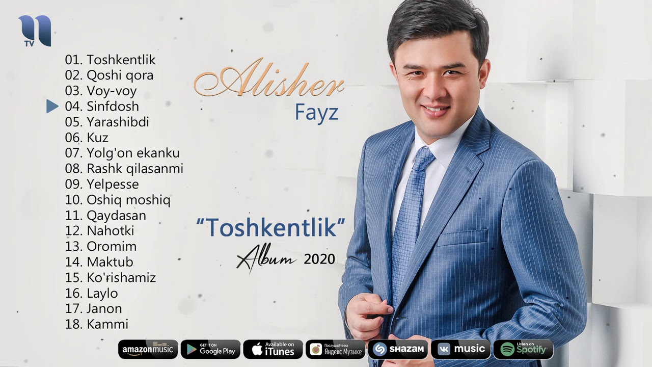 Alisher Fayz - Toshkentlik nomli albom dasturi 2020 онлайн томоша килиш
