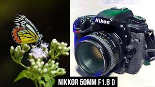 NIKKOR 50mm F1 8 D Lens Review in HINDI